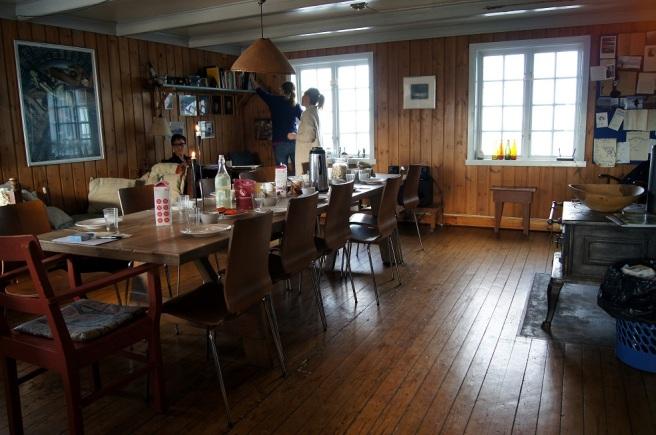 Kjøkkenet på Kråkeslottet. Foto: Hilde Kat. Eriksen