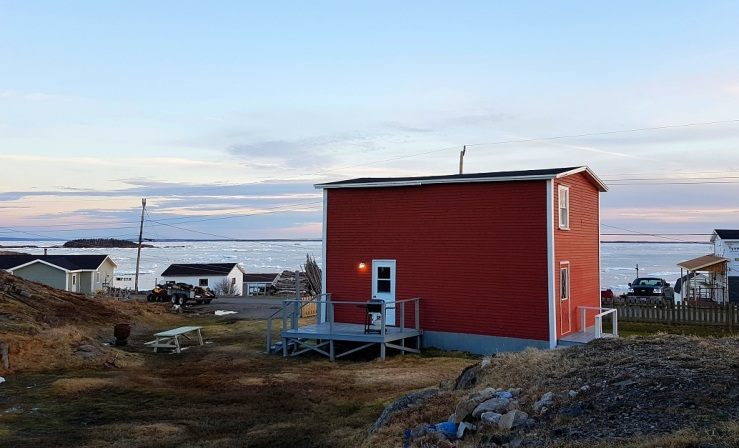 Joan Penney rents out two saltbox houses and several one-bedroom flats. Photo: Hilde Kat. Eriksen