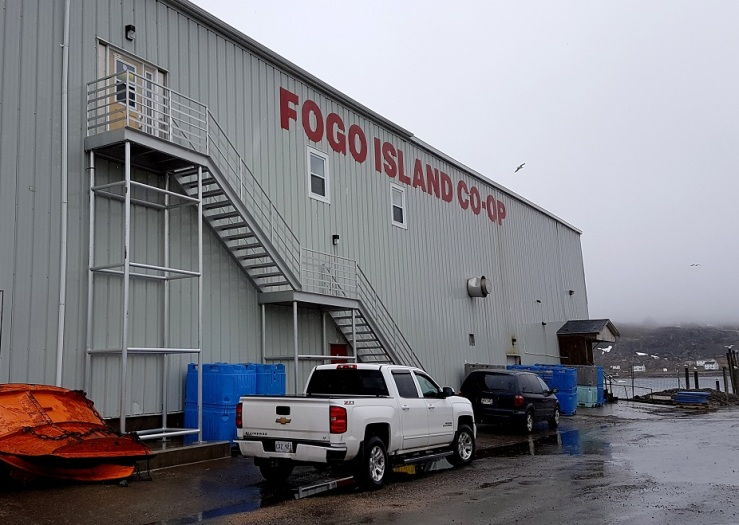 Fogo Island Fisheries Co-op. Photo: Hilde Kat. Eriksen