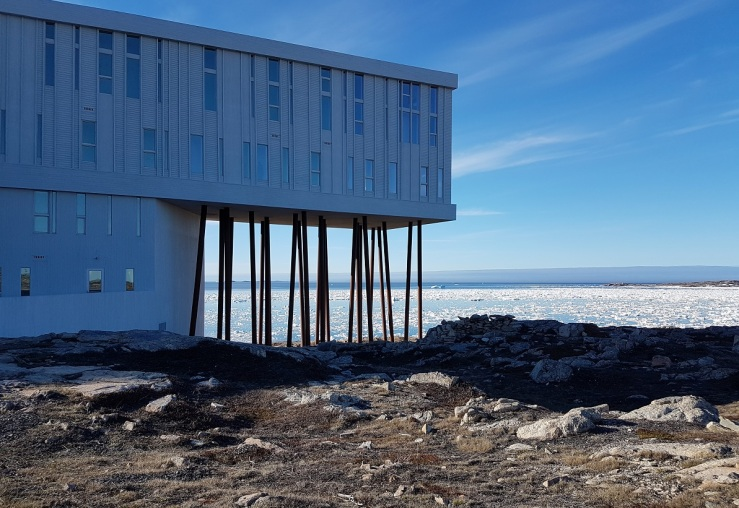 The Fogo Island Inn. Photo: Hilde Kat. Eriksen