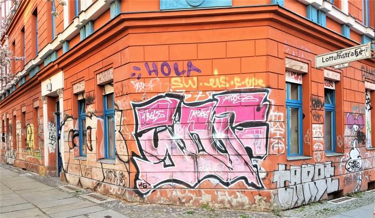 Berliner-Wörter. Foto: Hilde Kat Eriksen